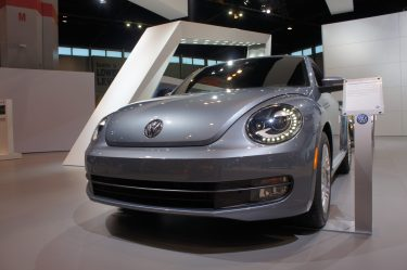 2016 beetle at Chicago Auto Show. (Xiumei Dong/MEDILL)